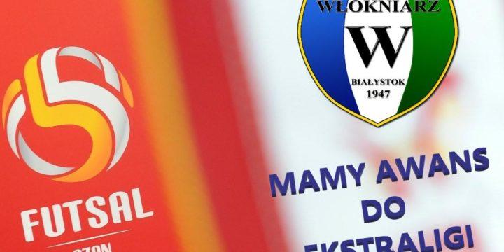 Seniorki KS Włókniarz Białystok awansowały do Ekstraligi Futsalu Kobiet!!!