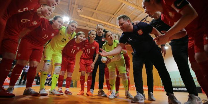 Mecz futsalu kobiet reprezentacji Polska- Białoruś 3:1
