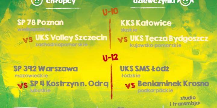 """Finał Turnieju """" Z podwórka na stadion o Puchar Tymbarku"""""""