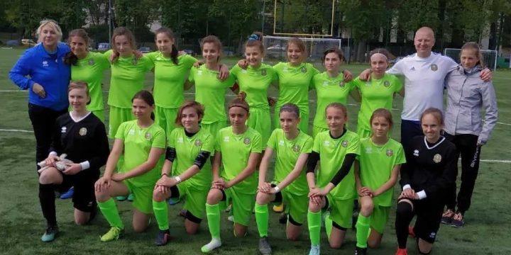 Reprezentacja  Podlaskiego ZPN U14 kobiet – Kujawsko-Pomorski ZPN U14 2:1