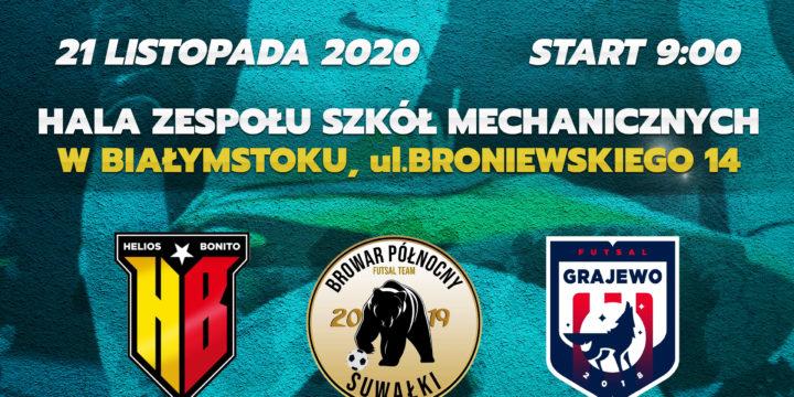 Bonito Helios Białystok zdobywcą Pucharu Polski w Futsalu  na szczeblu województwa podlaskiego.